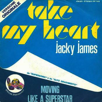 Jacky James - Take my heart